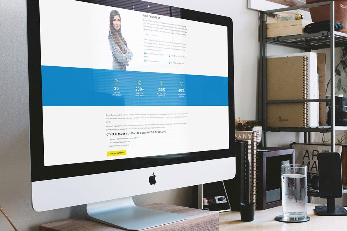 Cirtech Website | Desktop View | Case Studies | Big Marlin Group
