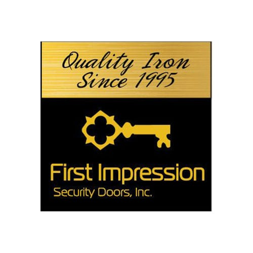 First Impressions Security Doors | Clients | Logo | Big Marlin Group