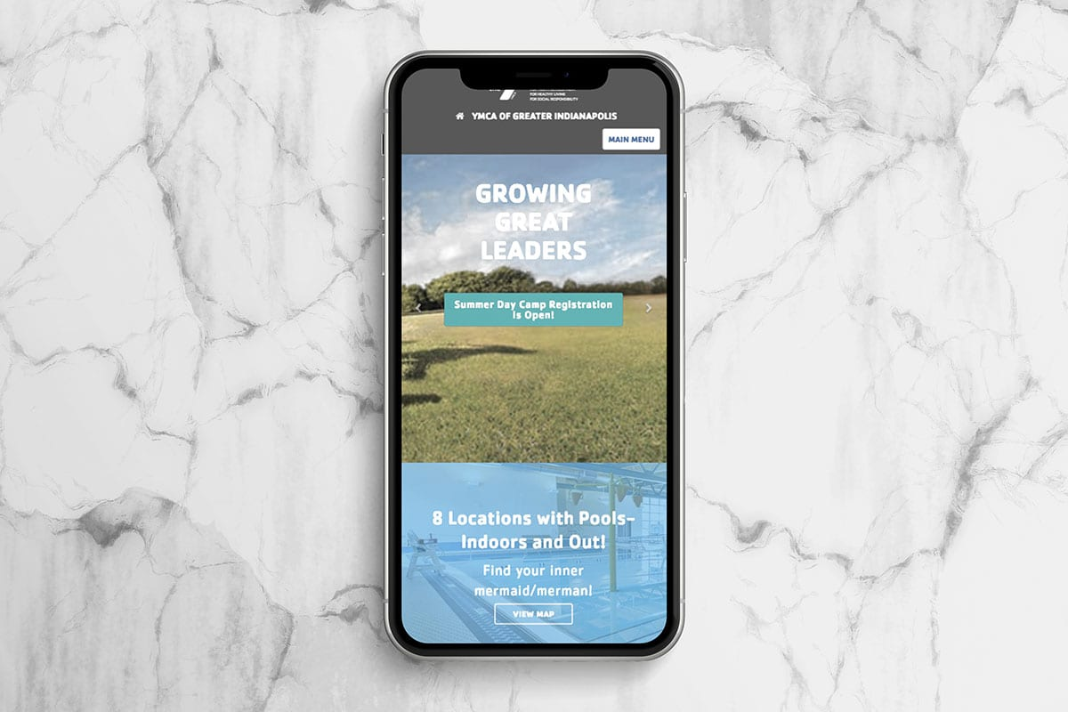 Mobile First Development | YMCA of Greater Indianapolis | Case Studies | Big Marlin Group