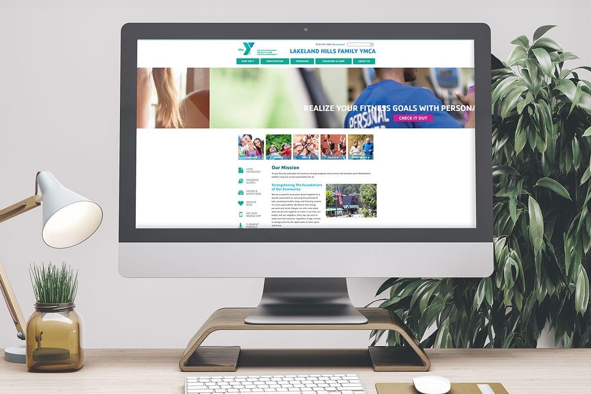 Improved Search Ranking | Web Development | Lakeland Hills Family YMCA | Big Marlin Group