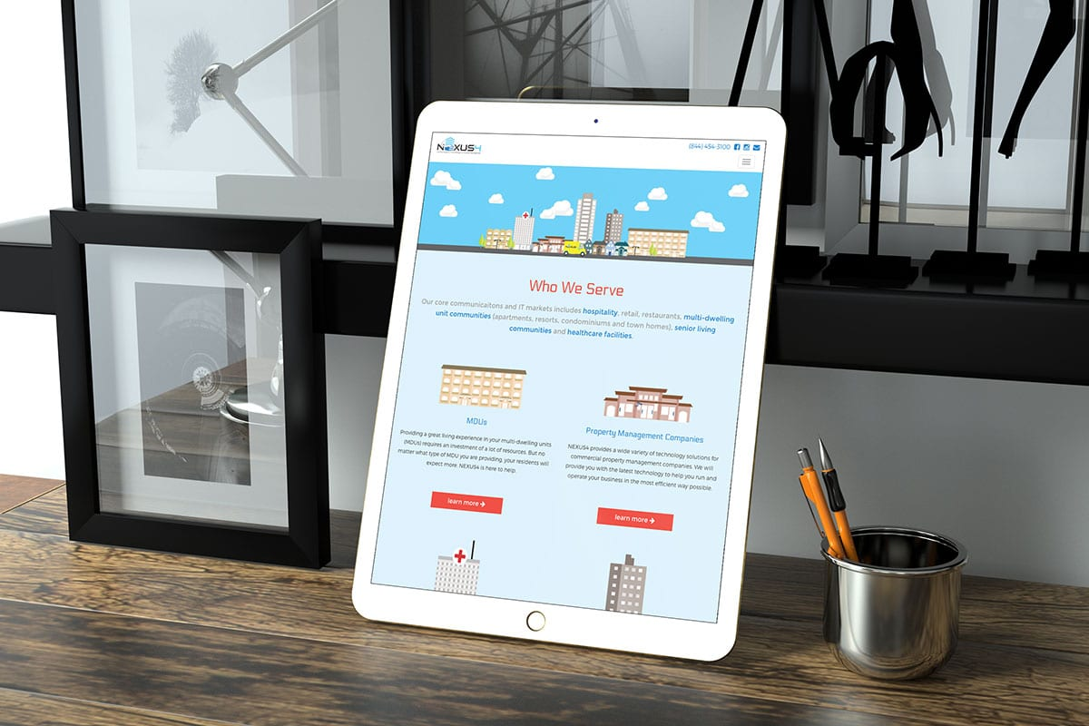 Responsive Web Development | Case Studies | Nexus4